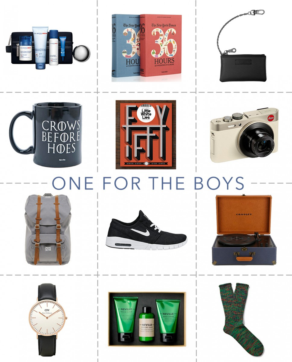 Gift Guide: One For The Boys