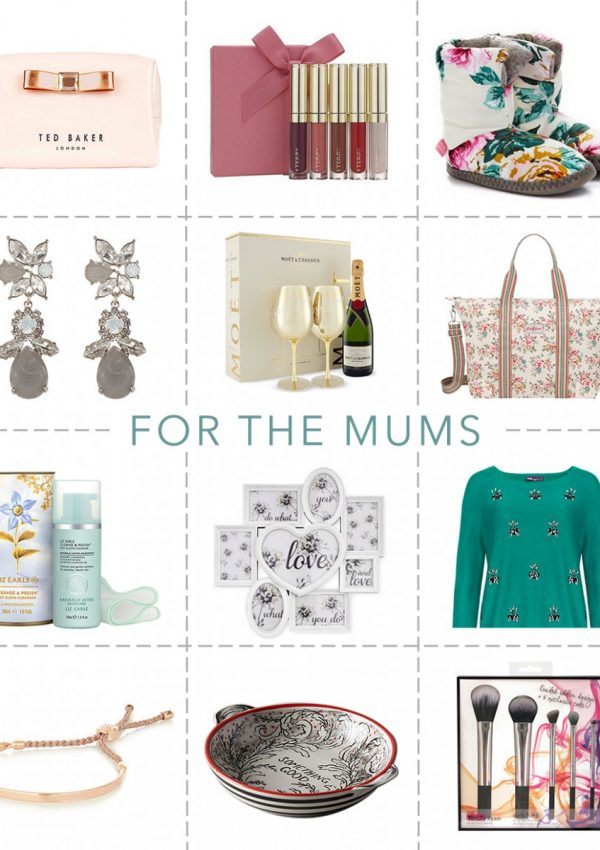 Gift Guide: For The Mums