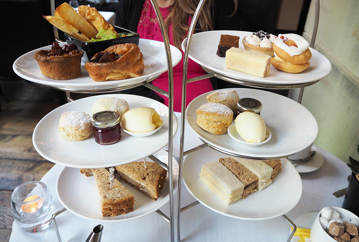 Afternoon tea at Opus One, Manchester
