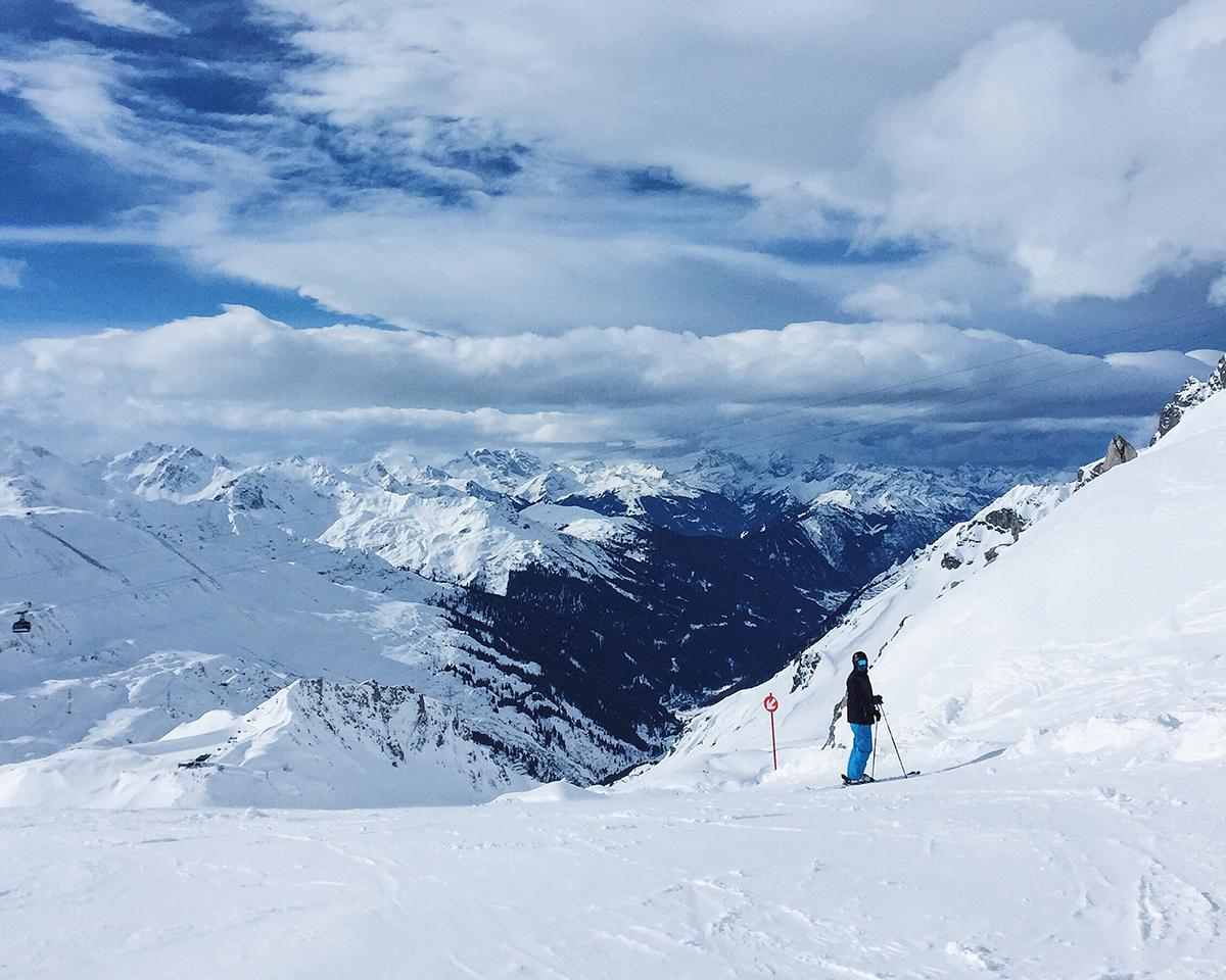 Skiing and Snowboarding with Crystal Ski in St Anton