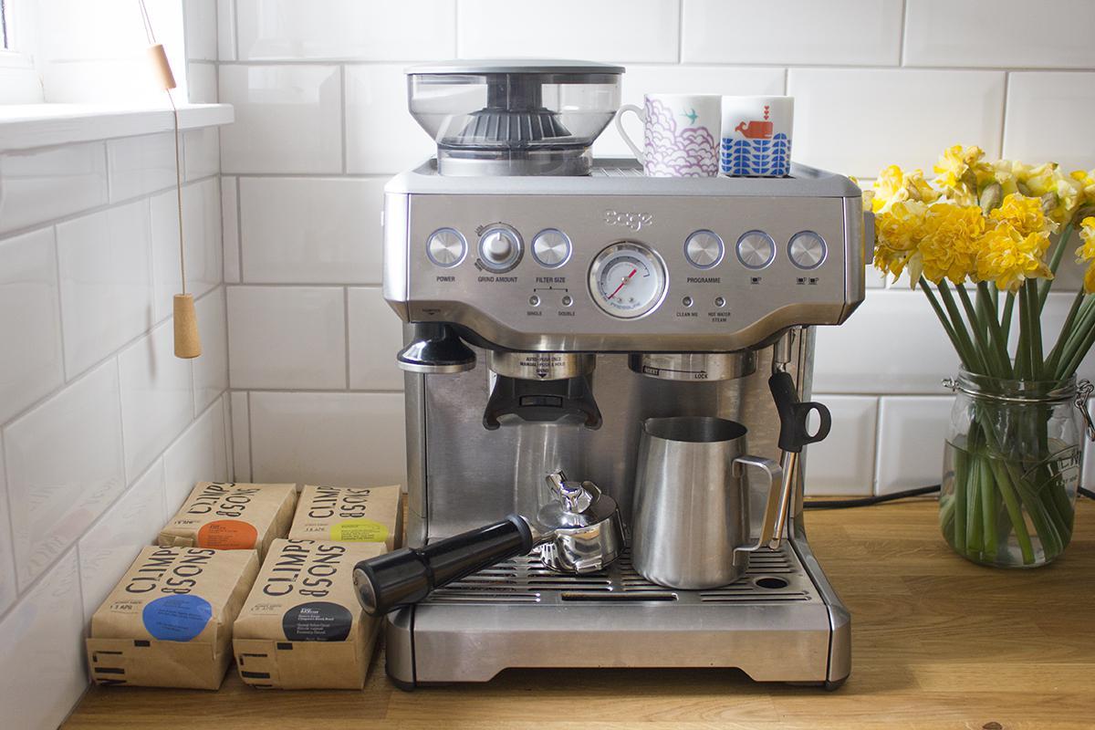 Sage by Heston Blumenthal Barista Express Coffee Machine