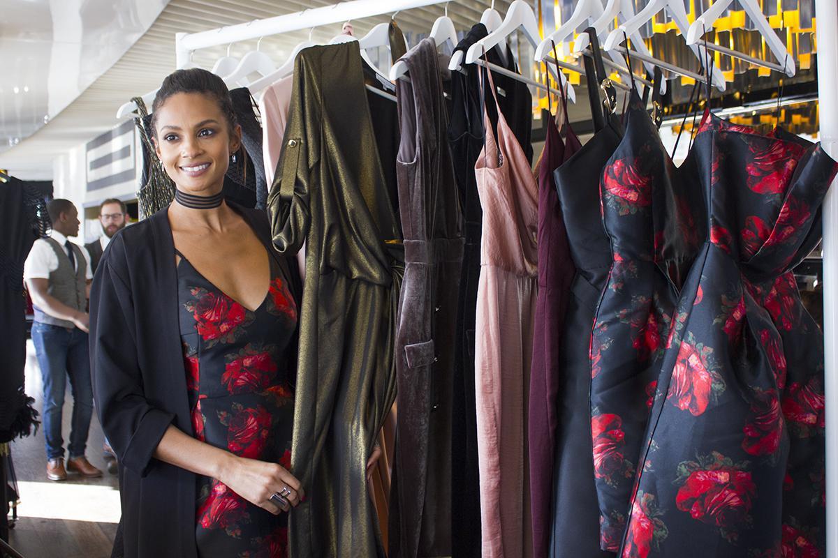 Alesha Dixon Little Black Dress Collection 2016