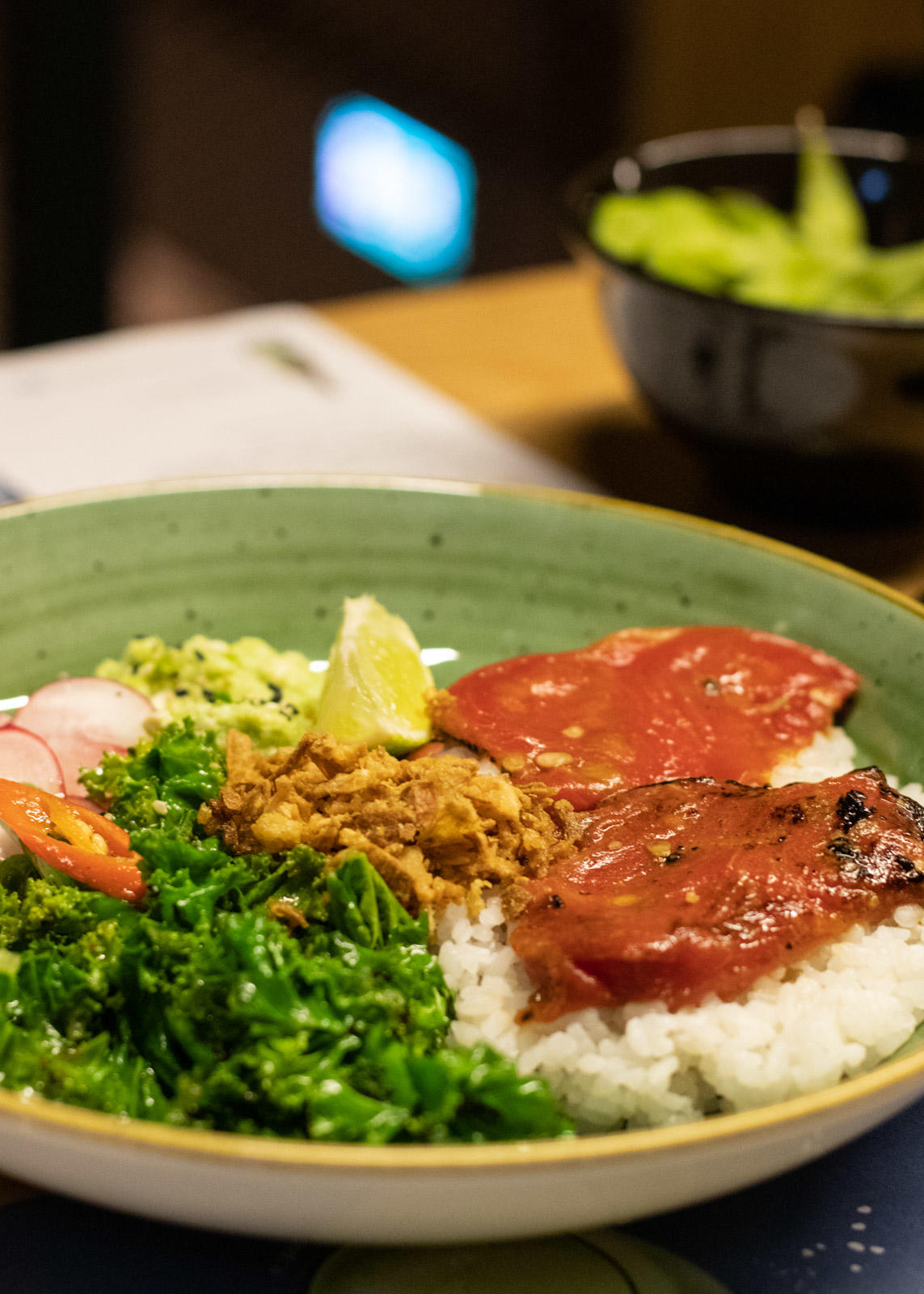 Vegan 'Suika' Tuna | Wagamama Vegan Menu Review