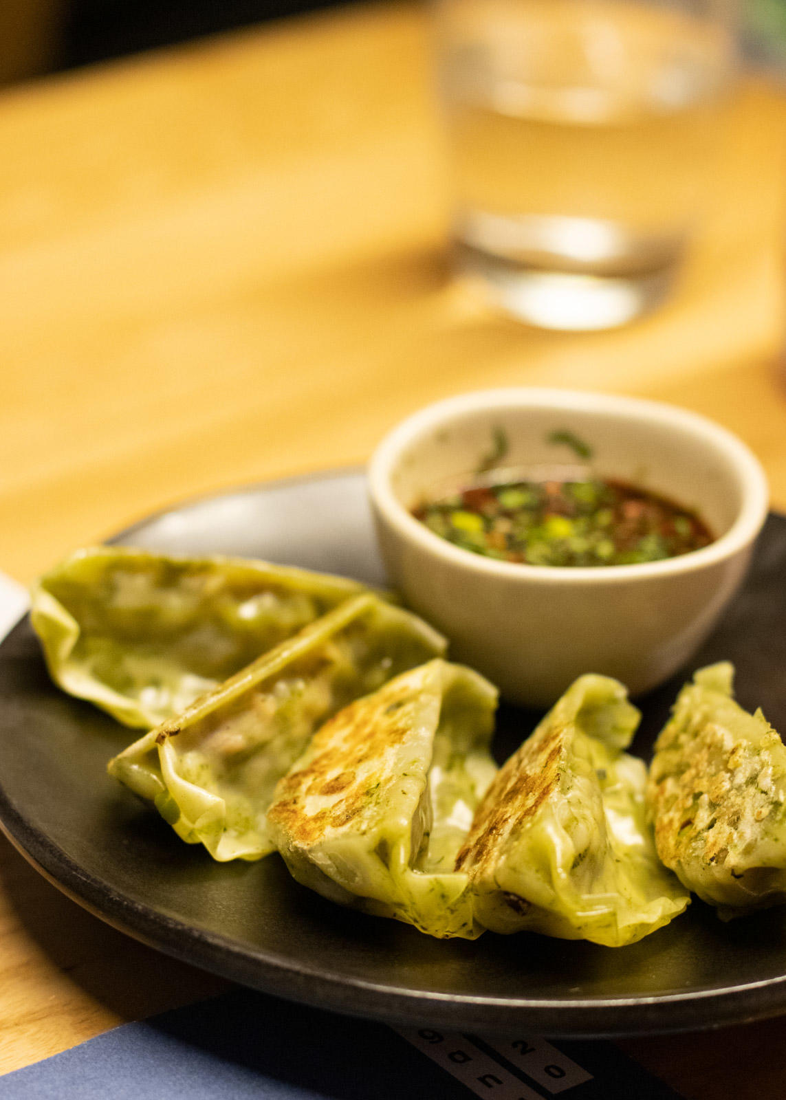 Yasai Steamed Gyoza | Wagamama Vegan Menu Review