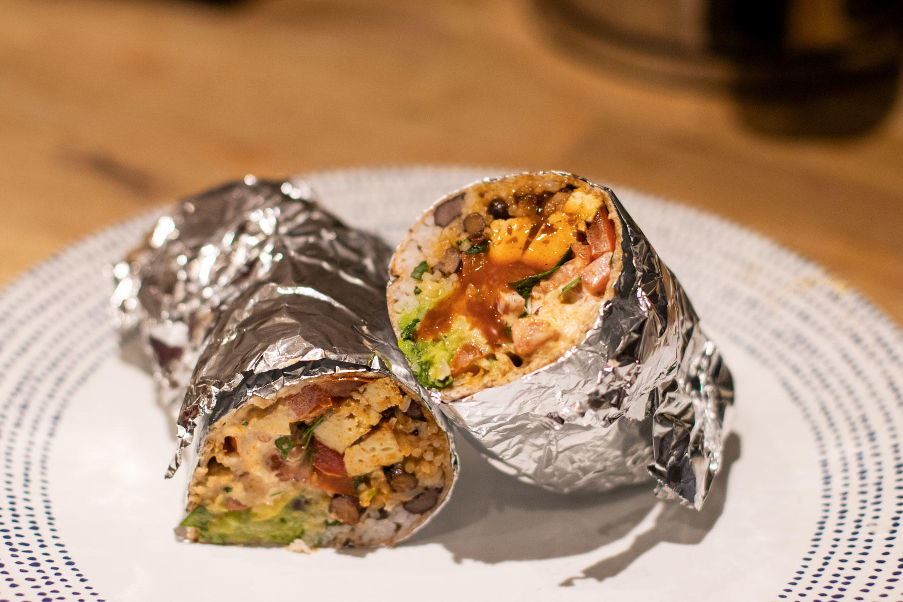 Smoked Tofu Black Bean Vegan Burritos Sarah Thain